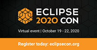 Generic Web Banner For EclipseCon 2020 Web
