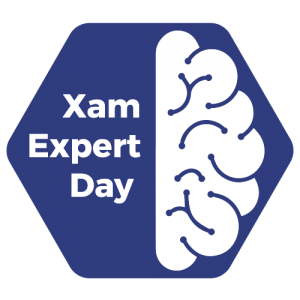 XamExpertDay2019 WhiteTextAndBrain 300x300